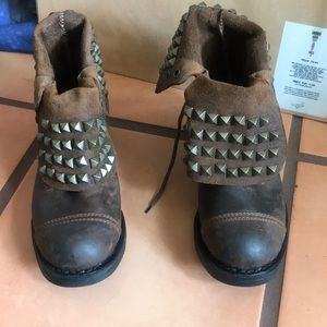 Jeffrey Campbell All Stud Combat Boot new size 36